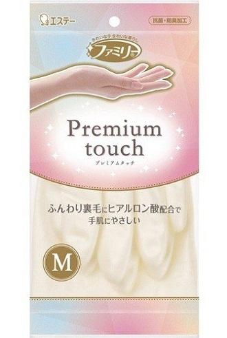 Хозяйственные перчатки с гиалуроновой кислотой Family Soft & Beauty Premium Touch, ST