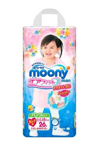 Трусики Moony SBig girl (13-28кг)