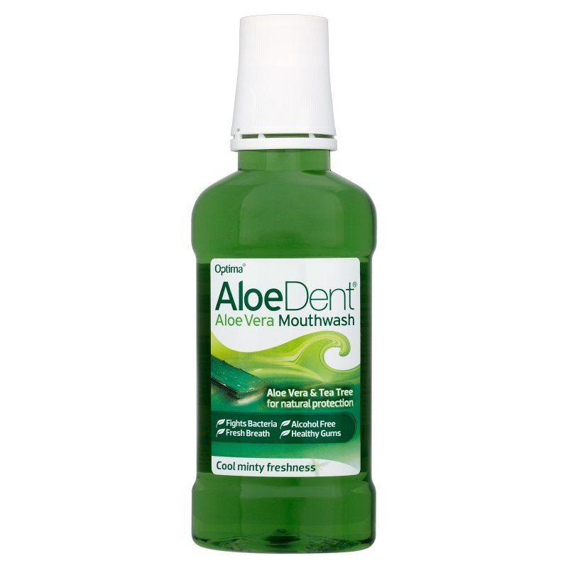 Жидкость для полоскания рта Optima AloeDent Aloe Vera Mouthwash 250ml
