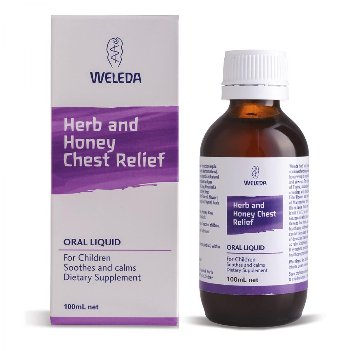 Weleda Herb & Honey Cough Elixir - традиционный травяной лекарственный препарат