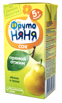 Сок из яблок и груш прямого отжима