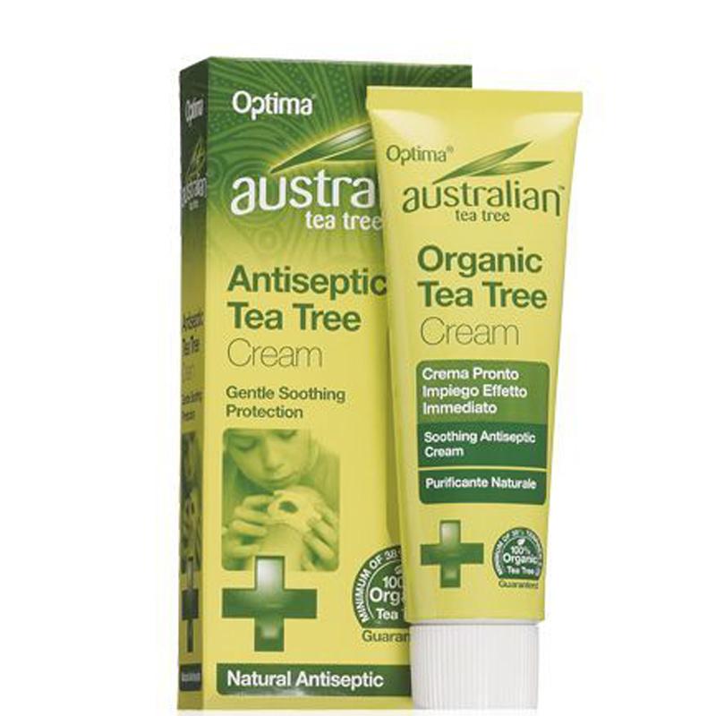 Крем антисептик на основе австралийского чайного дерева