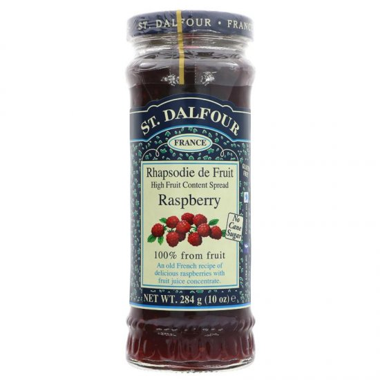 Французский джем без сахара 100% фрукты (малина) 284гр.