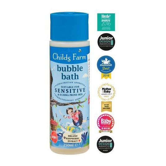 Пенка для ванны с органической малинкой 250 мл