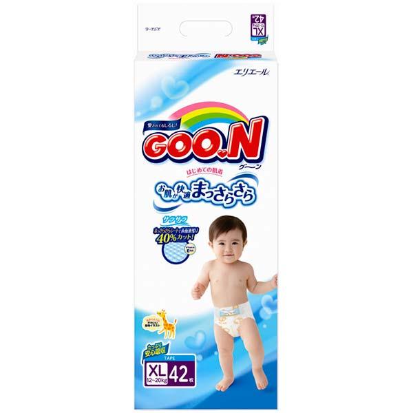 Подгузники GooN Super Jumbo XL 42 (12-20кг)