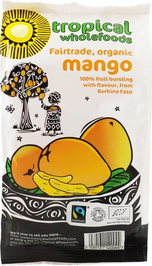 Органический манго дольками 100гр
