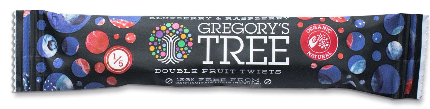 Чернично-малиновая двойная фруктовая пастила 18гр