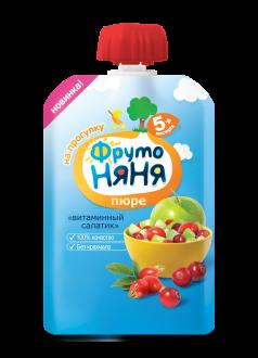 """Пюре """"Витаминный салатик"""""""