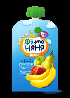 """Пюре """"Салатик из фруктов"""""""