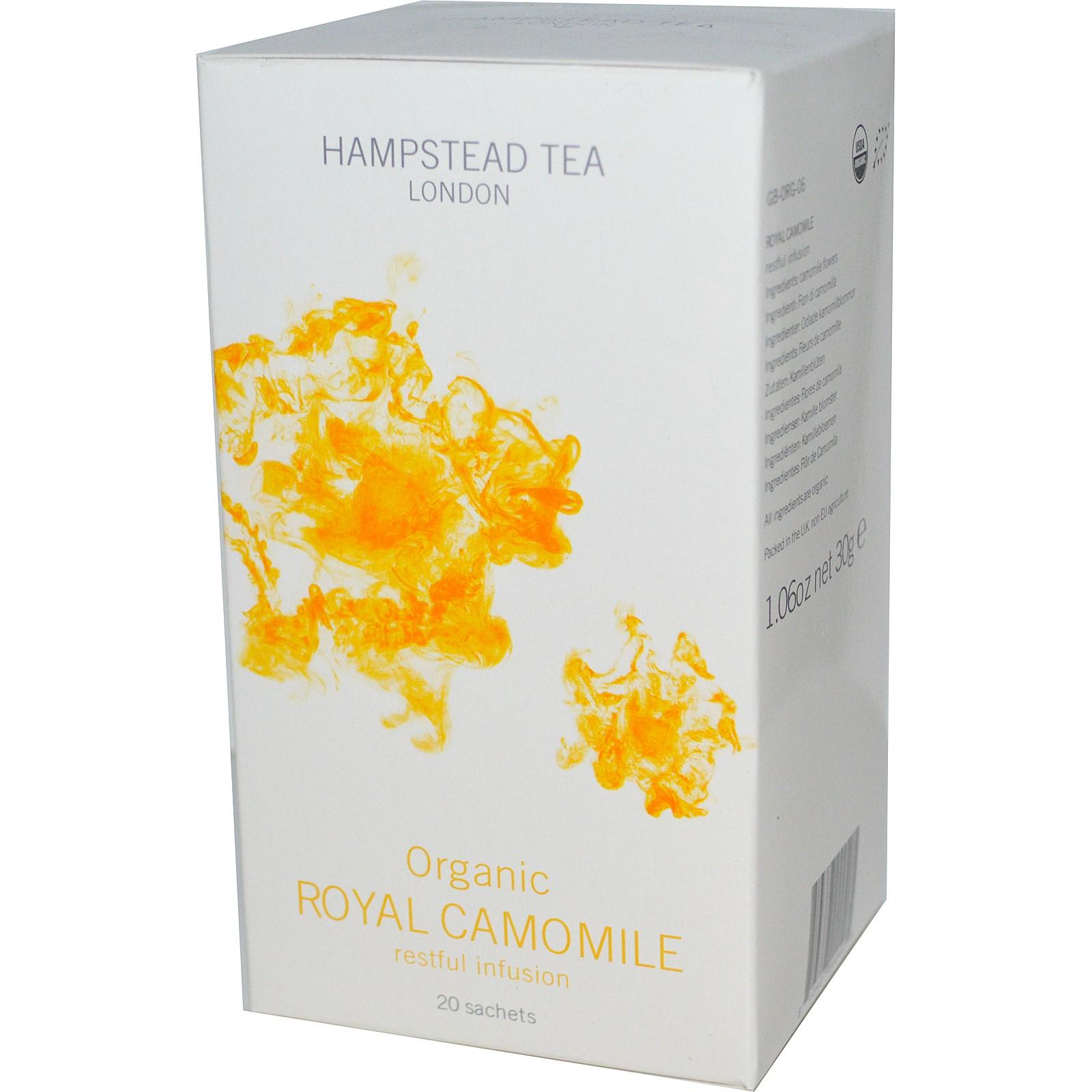 Органический чай с ромашкой