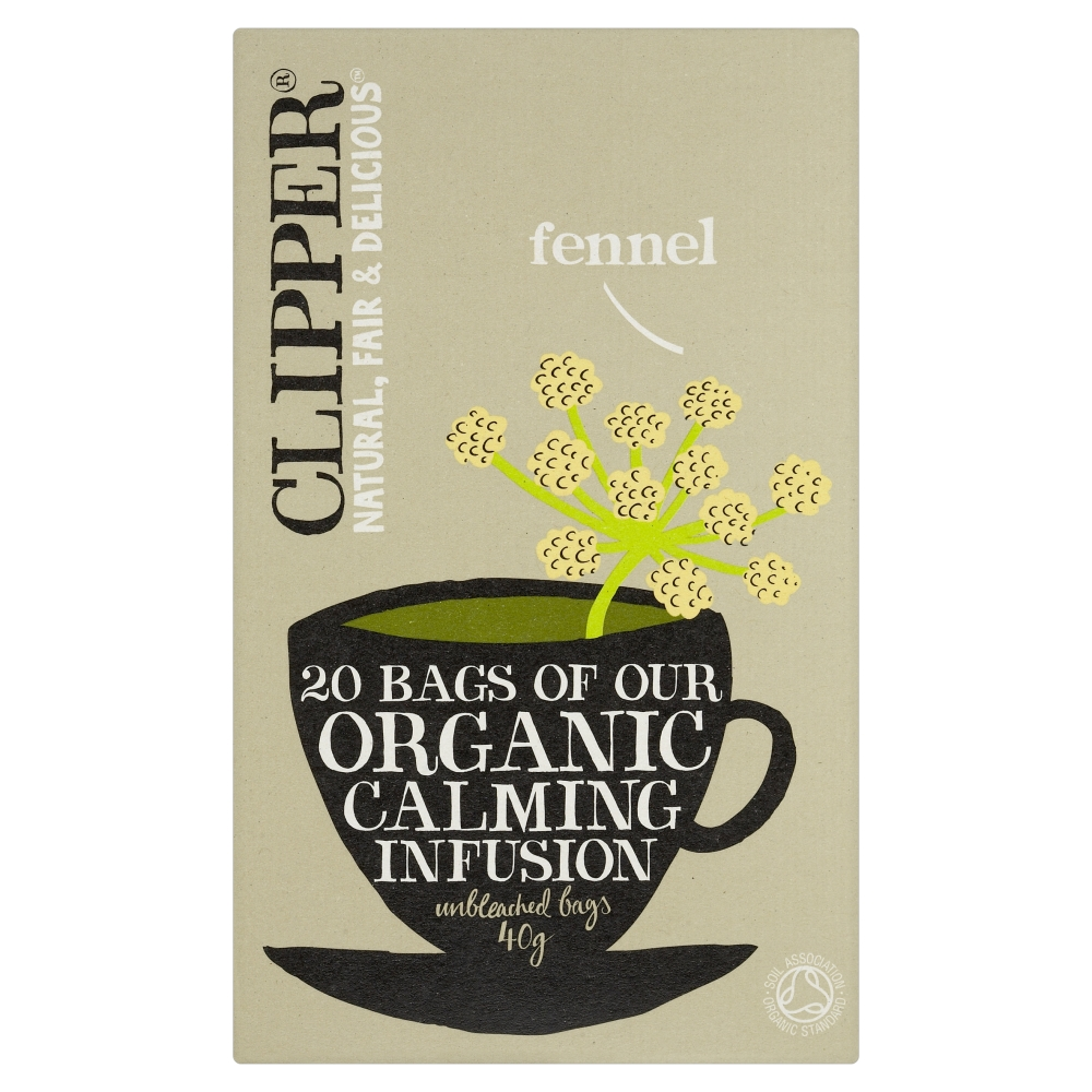 Органический чай с фенхелем (укропный)