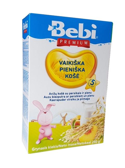 Молочная Овсяная каша с персиком с 5 месяцев 250гр.