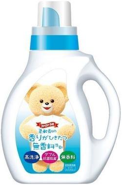 Жидкое средство для стирки с антибактериальным эффектом NS FaFa, без парфюмерных отдушек бутылка 1 кг