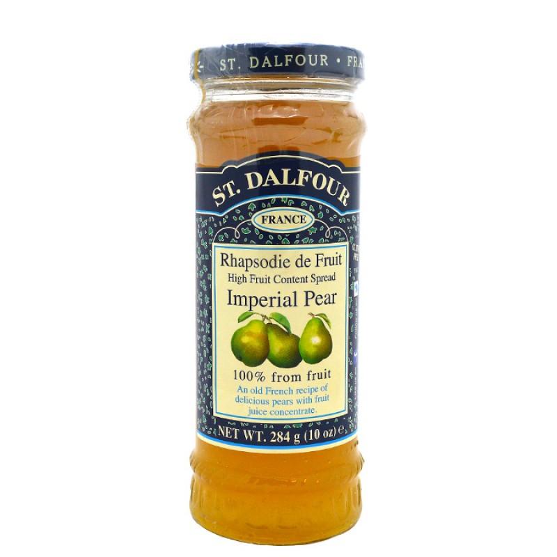 Французский джем без сахара 100% фрукты (груша) 284гр.