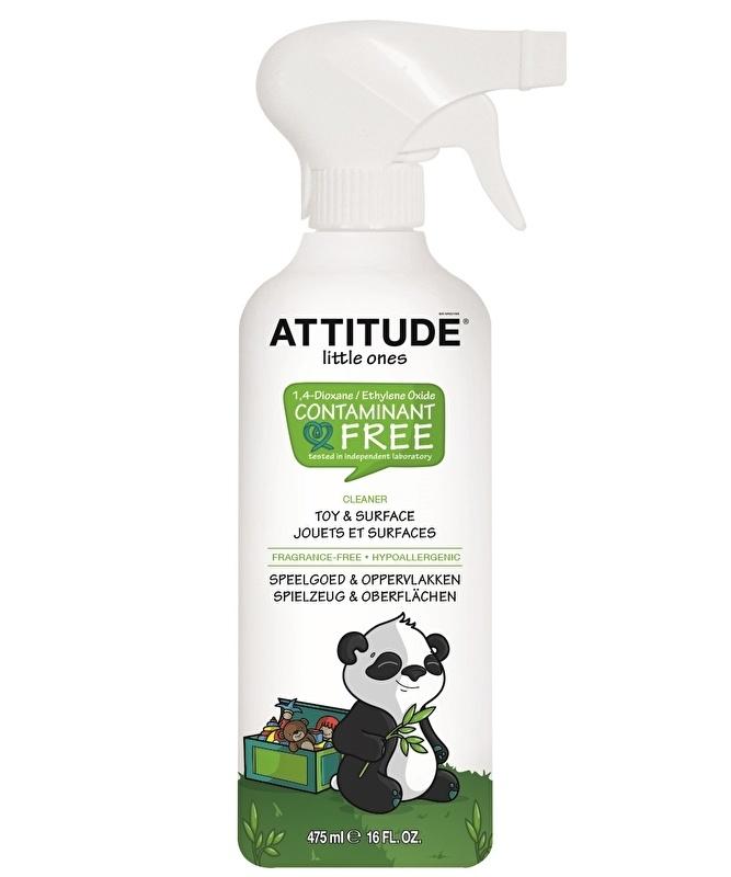 """""""Attitude""""Очиститель для игрушек и игровых поверхностей/475мл."""