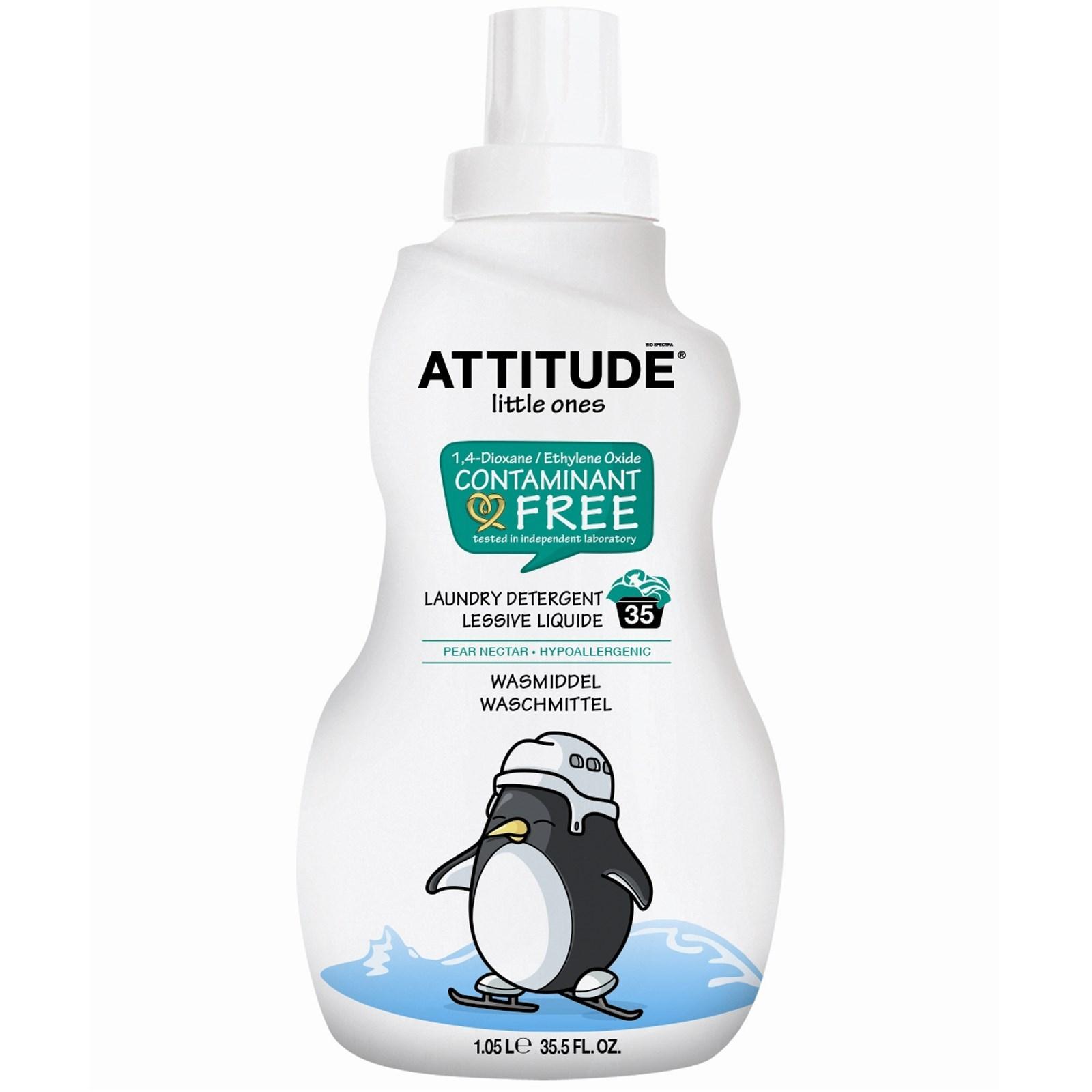 """""""Attitude"""" Средство для стирки с ароматом груши на 1л/35 стирок"""
