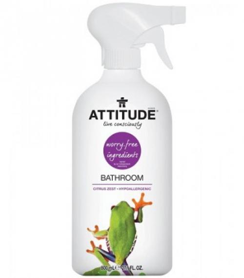 """Экологичный очиститель для ванных комнат спрей/800 мл/""""Attitude"""""""
