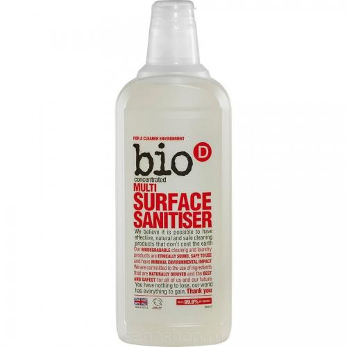 """Средство для чистки любых поверхностей """"BioD""""концентрат/750мл."""
