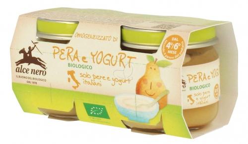 Йогурт с грушей с 4 мес (2*80 гр)