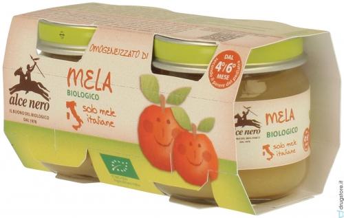 Яблочное пюре с 4 мес ( 2*80 гр)