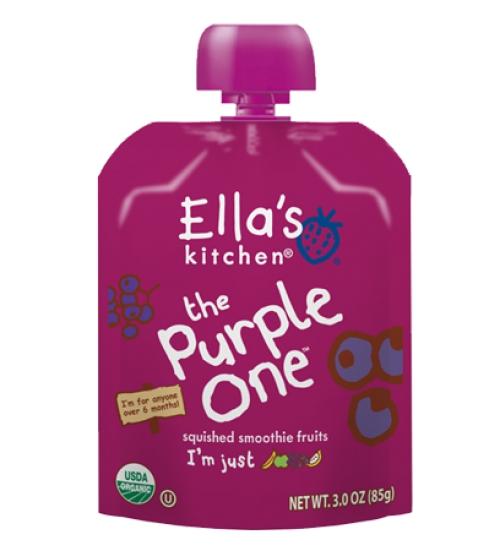 Ассорти из фиолетовых фруктов 6+мес/90гр