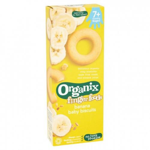 Органическое печенье  с бананом 7+мес 54гр.