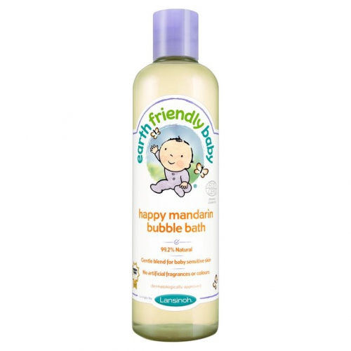 "Детская пенка для ванны ""Earth Friendly Baby"" с мандарином 300мл."