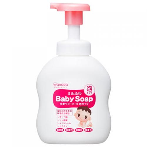 Детское жидкое мыло Wakodo None для чувствительной кожи 450мл