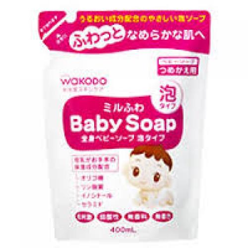 Детское жидкое мыло Wakodo None для чувствительной кожи Wakodo None (наполнитель) 400мл