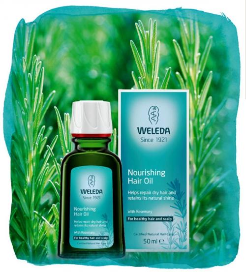 Органическое питательное масло для  волос 50мл
