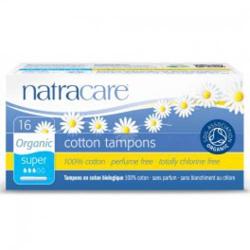 Тампоны Natracare SUPER (16шт)