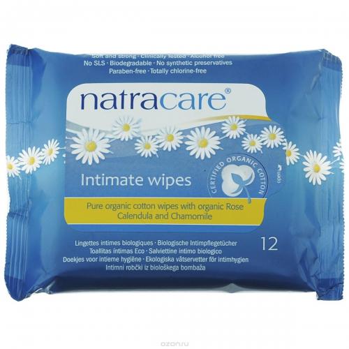 """Влажные очищающие салфетки Natracare """"Organic Cotton"""""""