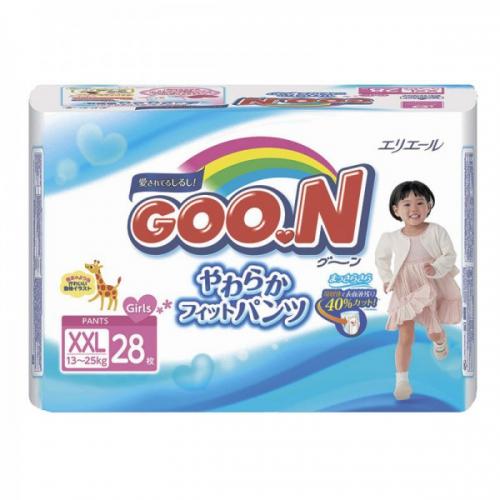 Трусики GooN Super Jumbo для девочек Super BIG 28 (13-25кг)