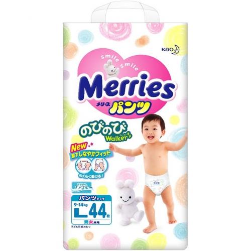 Трусики Merries L 44 (9-14кг)