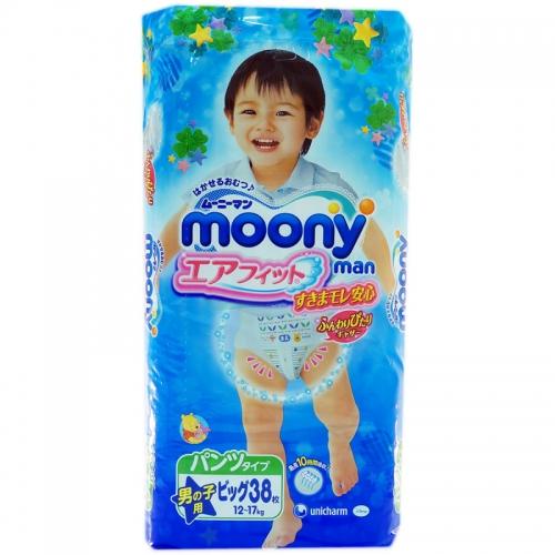 Трусики Moony Man Big 38 для мальчиков (12-17кг)