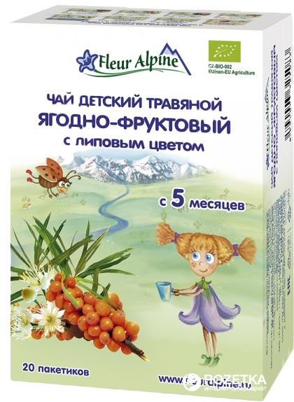 Чай деский травяной ягодно-фруктовый с липовым цветом