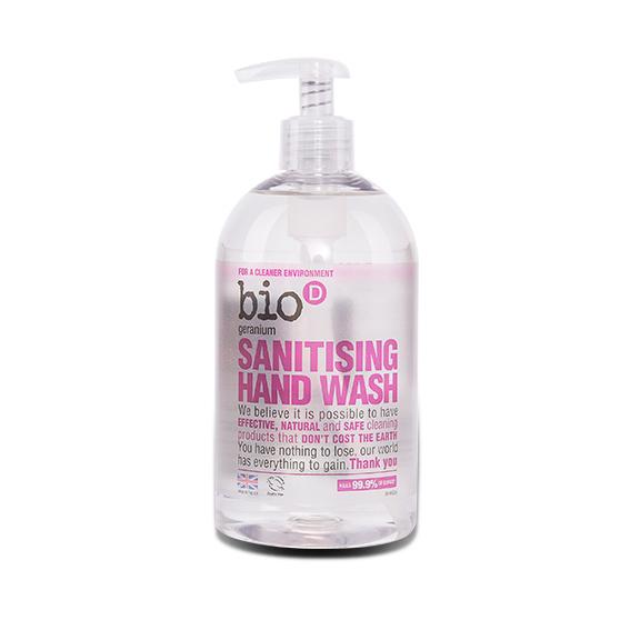 """Жидкое мыло для рук с антибактериальным эффектом """"BioD"""" 500мл/герань/"""