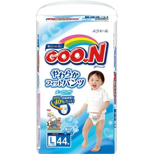 Трусики GooN Super Jumbo для мальчиков L 44 (9-14кг)