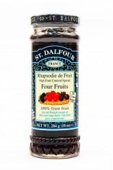 Французский джем без сахара 100% 4 фрукты  284гр.
