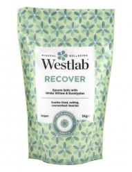 Соль для ванны Westlab Recover Bathing Salts экстрактами белой ивы, арники и эвкалипта 1000g