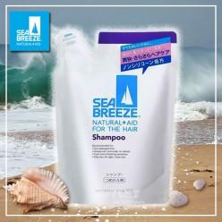 Шампунь для жирной кожи головы и всех типов волос Sea Breeze, Shiseido 400 мл