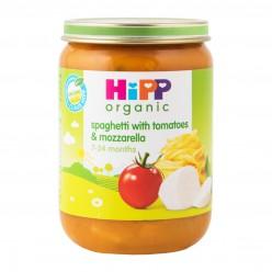 Hipp Спагетти с помидорами и моцареллой 7+мес/190гр