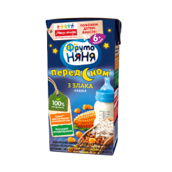 Кашка молочно-злаковая гречнево-кукурузно-рисовая с 6+ мес 200 мл