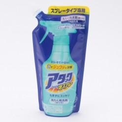Kao Спрей-пятновыводитель Attack Bubble Spray, запасной блок в мягкой упаковке 250 мл