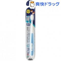 Lion Clinica Kid's Детская зубная щетка с гибкой головкой для бережной чистки зубов голубого цвета 6-12 г 1 шт