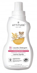 Средство для стирки детских вещей Sensitive Skin 1л/35 стирок, Attitude