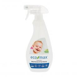 Eco- Max Био средство для чистки и дезинфекции игрушек и детской комнаты 500мл.Без запаха