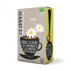 Органический черный чай с ромашкой, 20 пакетиков