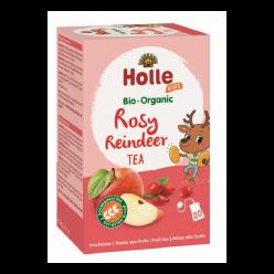 Чай детский BIO яблоко-шиповник, 20 пакетиков, Holle