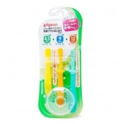 Рigeon Набор зубных щеток 3 уровня (3шт)